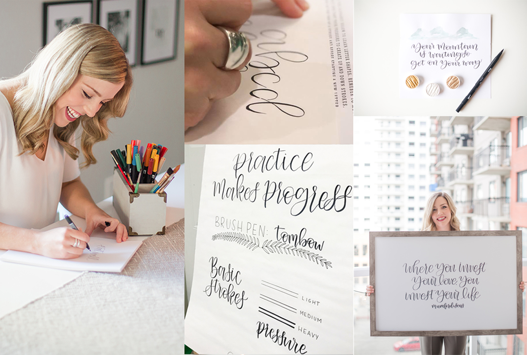 Peak Paper Co calligraphy workshop