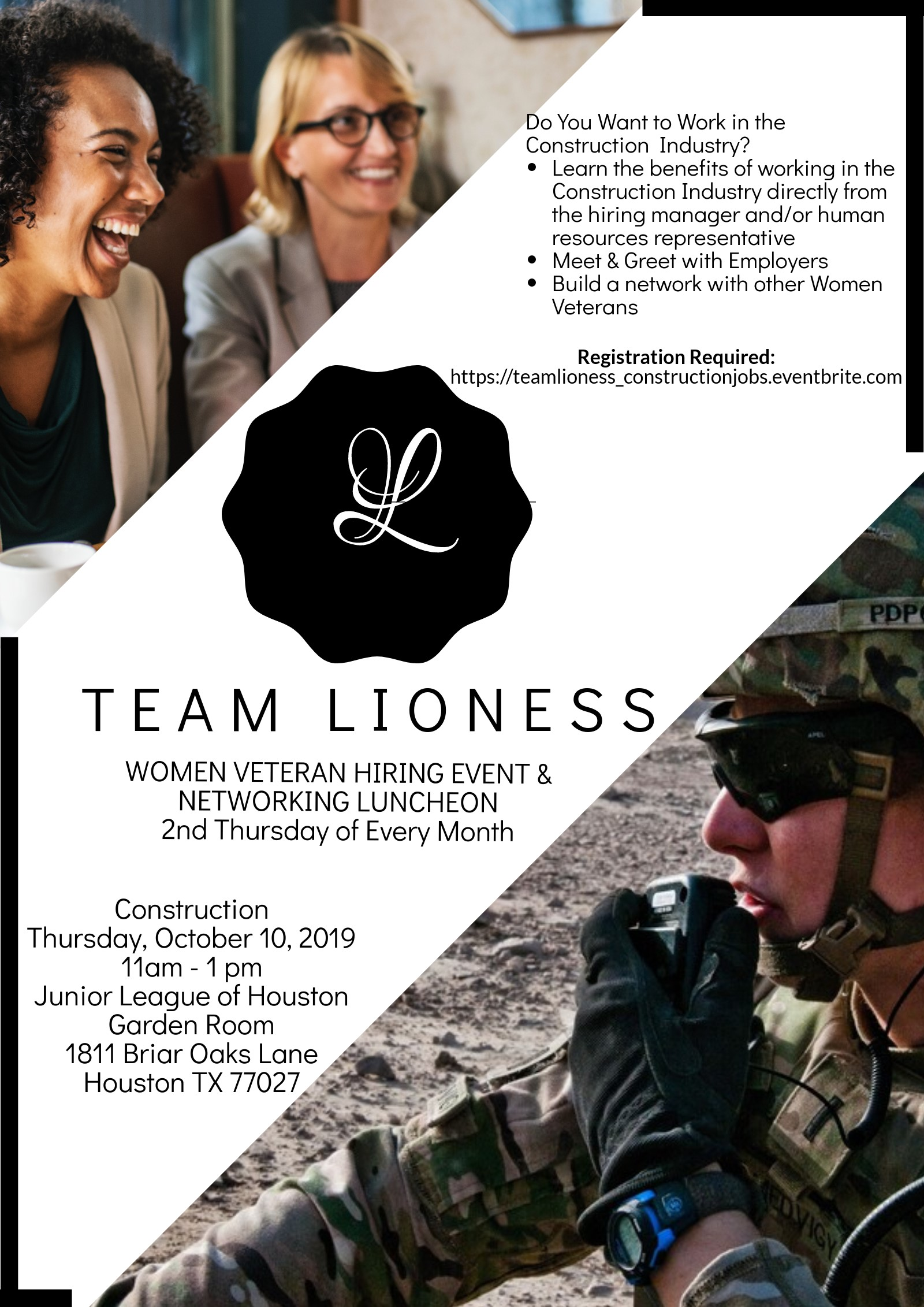 Team Lioness Luncheon Construction