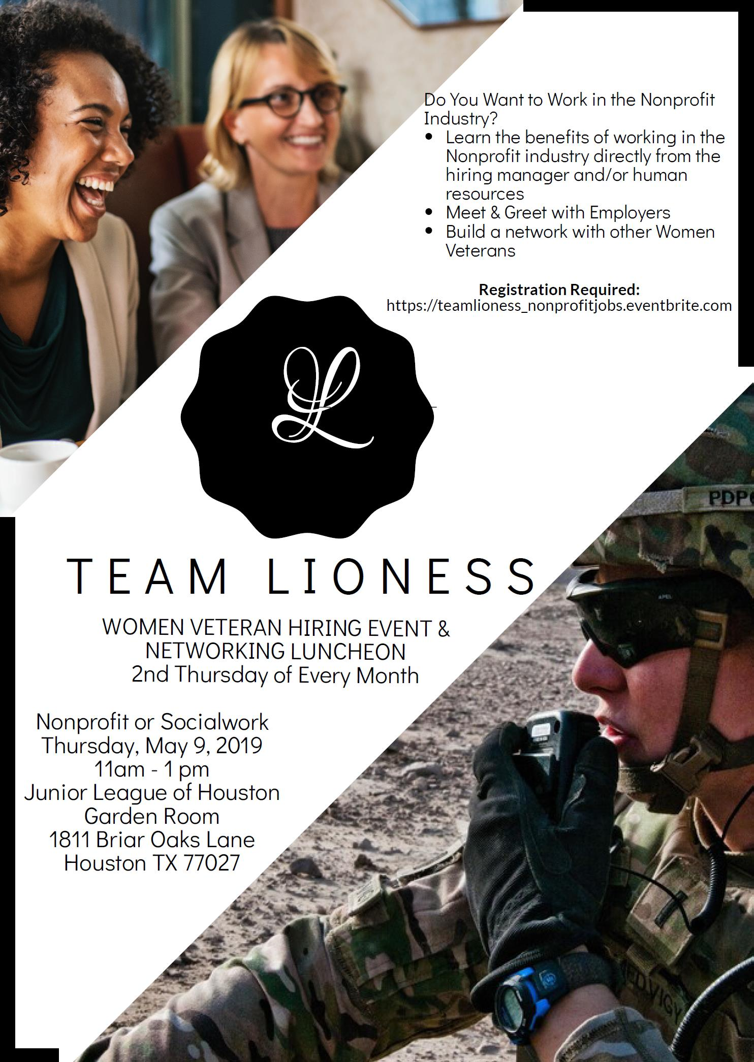 Team Lioness Nonprofit