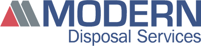 Logo and link to website for Modern Disposal Services