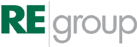 Logo for RE Group
