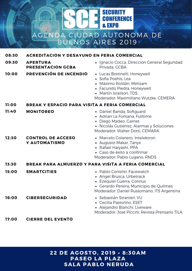 Agenda SCE Buenos Aires