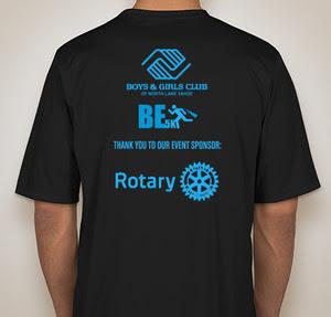BE5K Shirt (back)