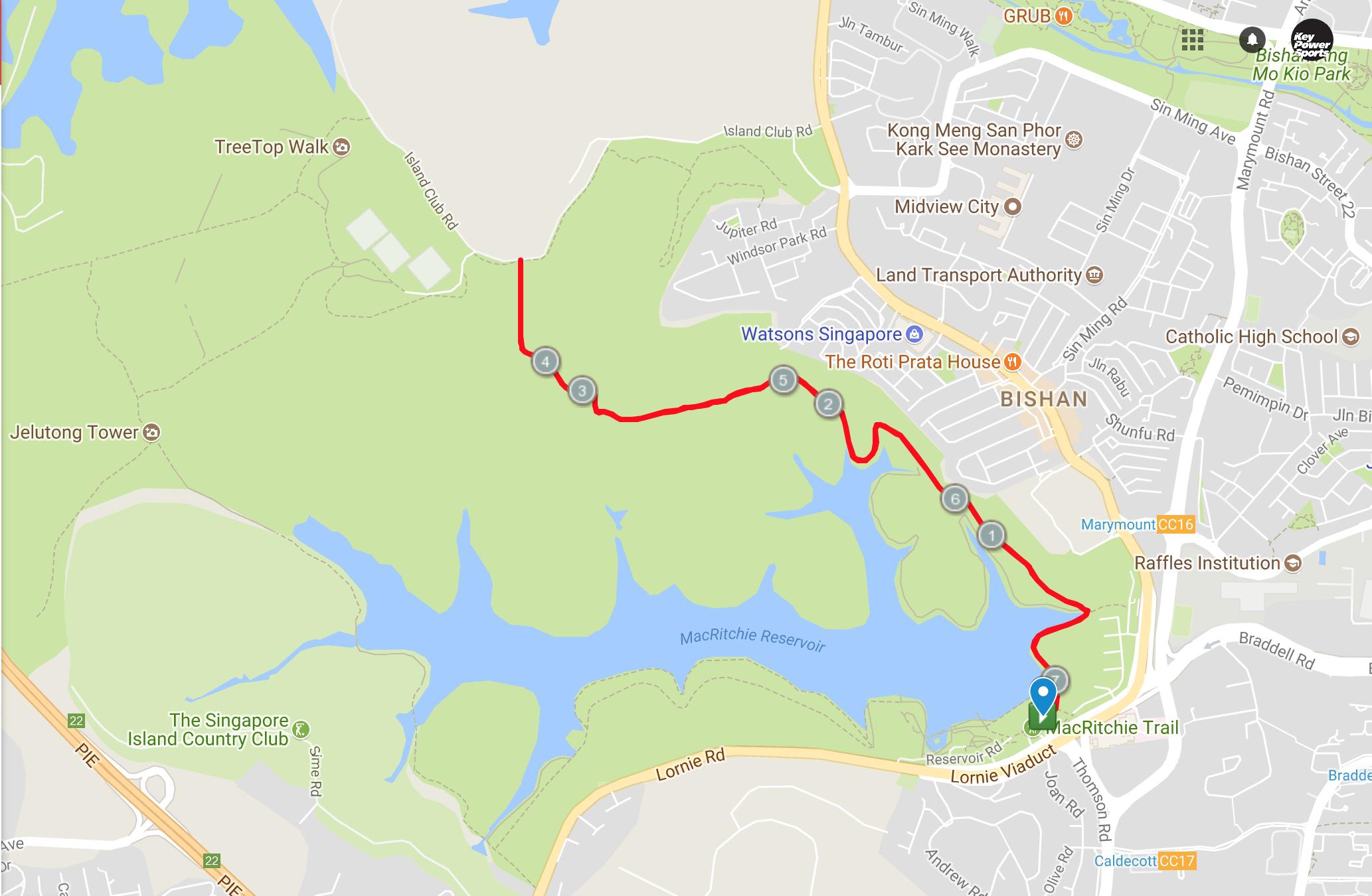 Run Route 7Km