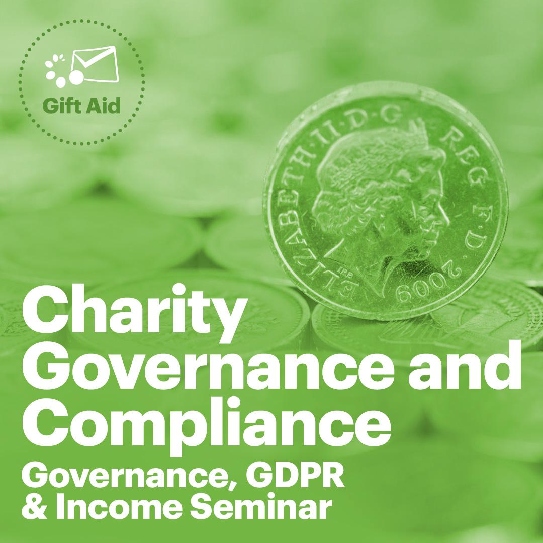GoodtoGive Events - Charity Governance Seminar 27th April 2019
