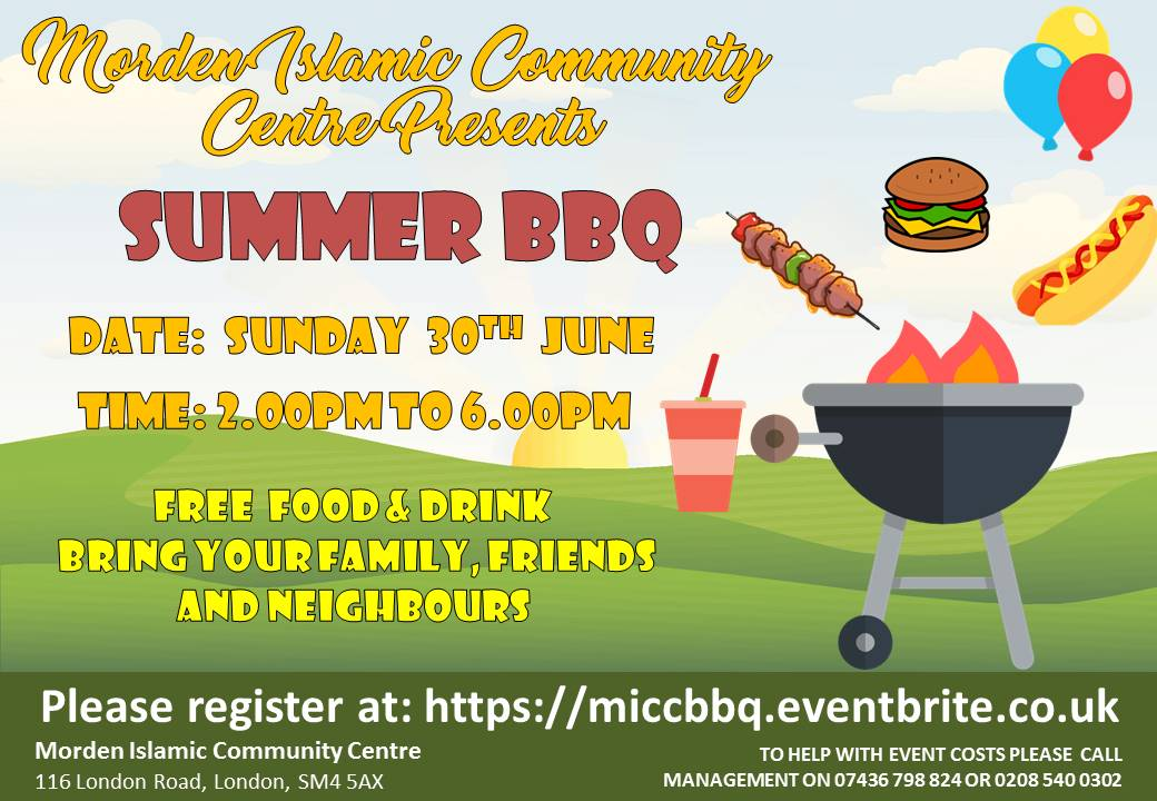 MICC Summer BBQ