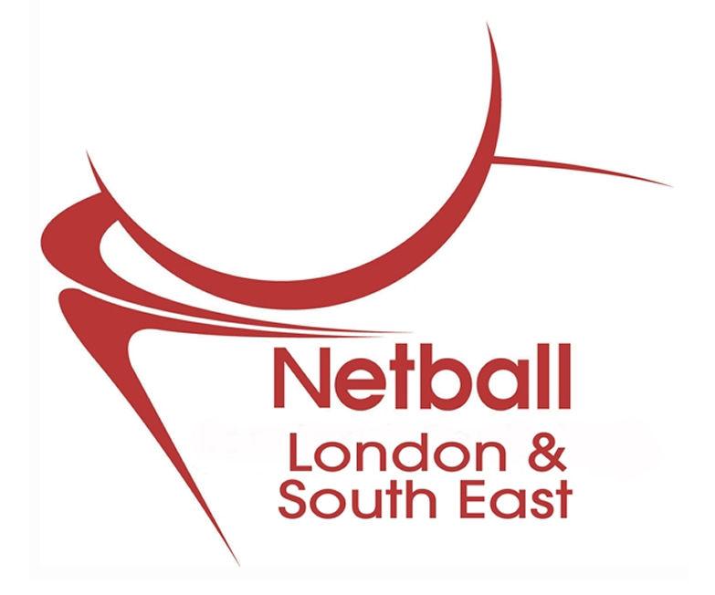 London and South East Regional Netball Association Logo