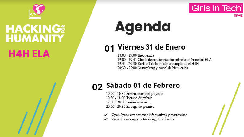 Programa de Haking for Humanity organiza Girls in Tech Spain