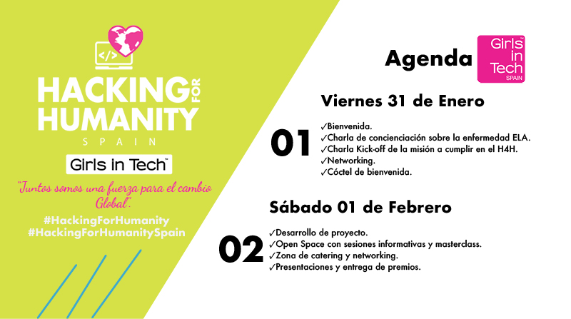 Programa de Haking for Humanity organiza Girls in Tech Spain