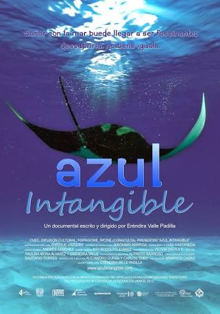 Azul Intangible Film Cover