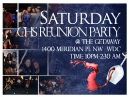 {CLASS OF '03} Central High School Alumni Reunion