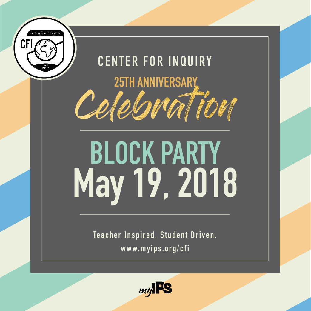 Center for Inquiry 25th Anniversary Celebration Save The Date May 19, 2018