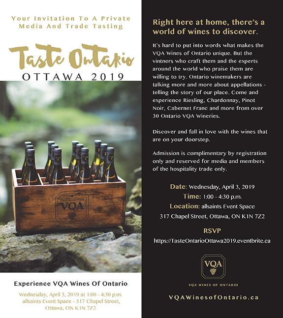 Taste Ontario Ottawa 2019