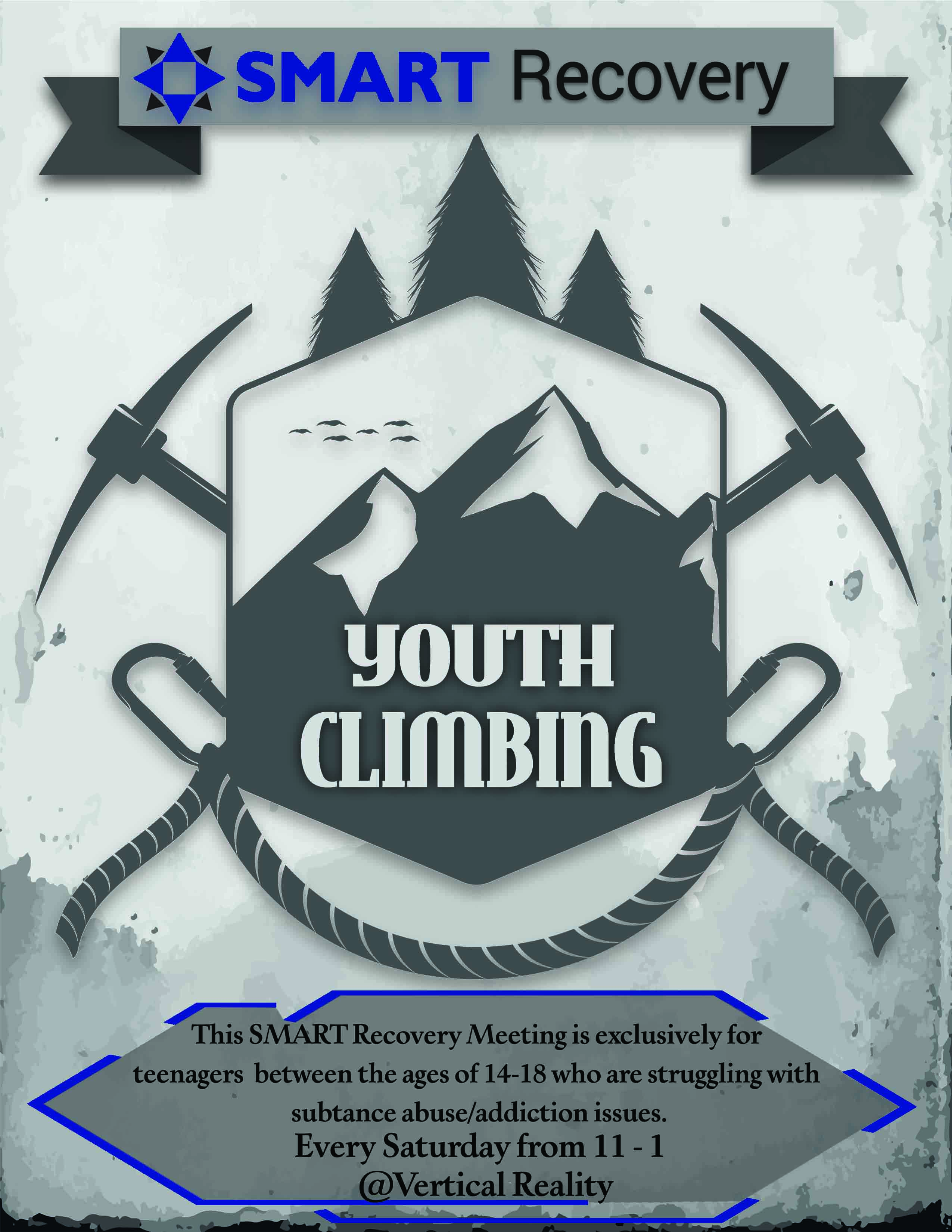SMART Recovery Youth Climbing