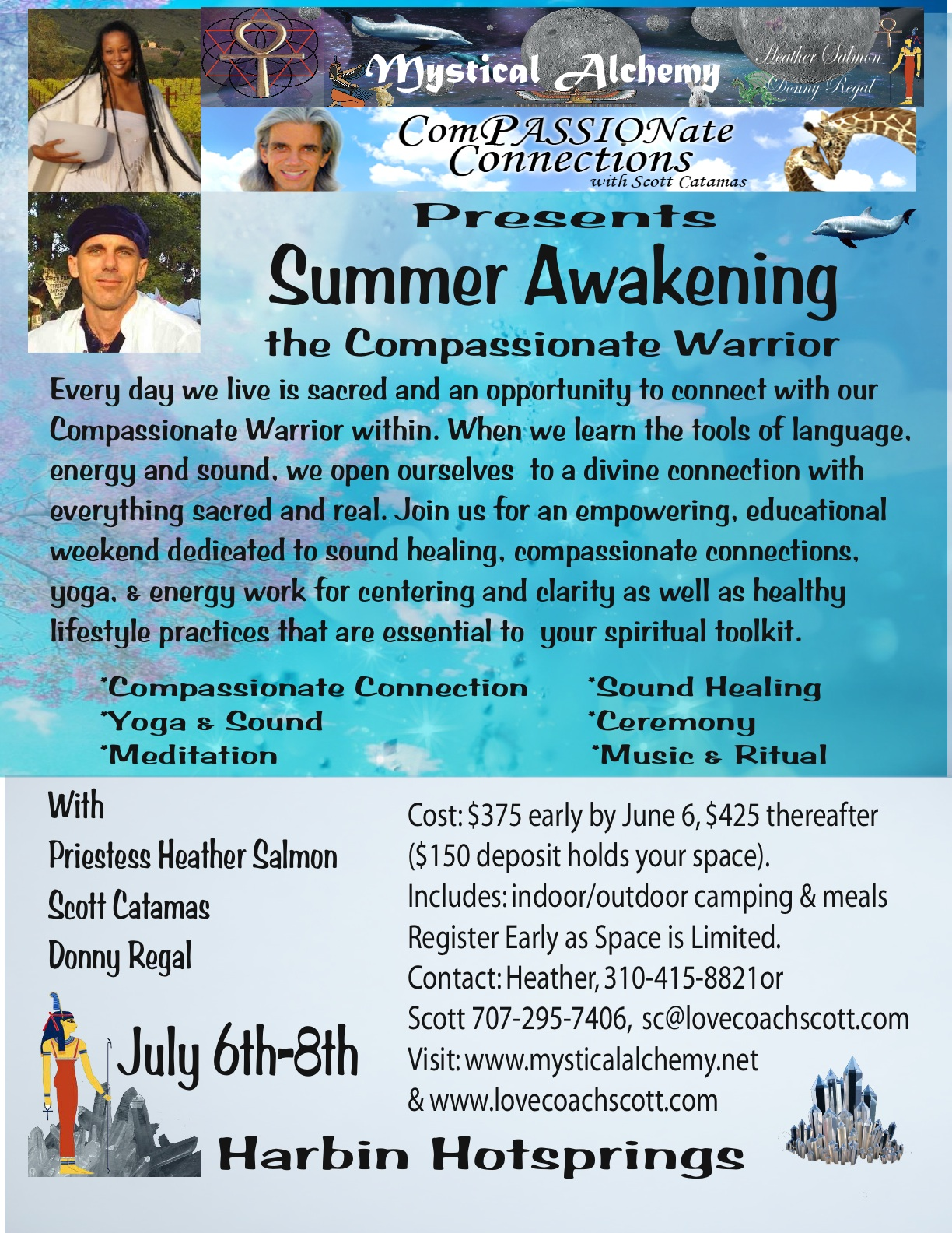 Summer Awakening, The Compassionate Warrior