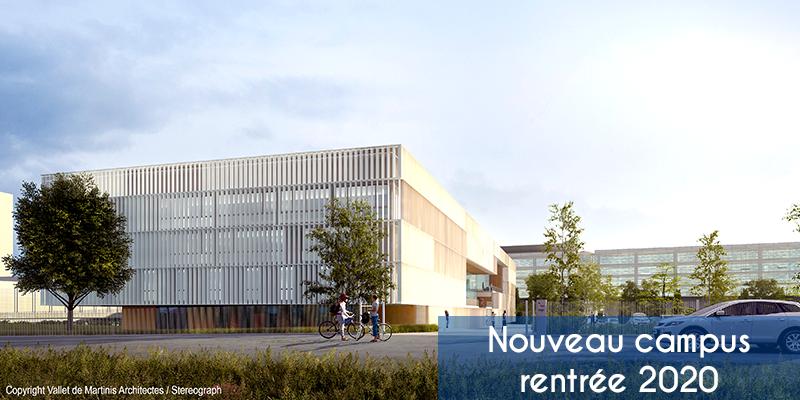Nouveau campus Itescia 2020 Pontoise
