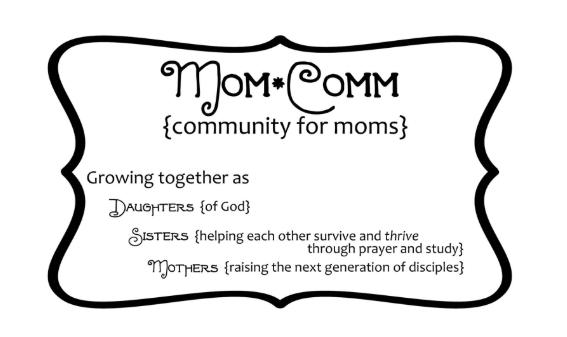 MomComm Logo