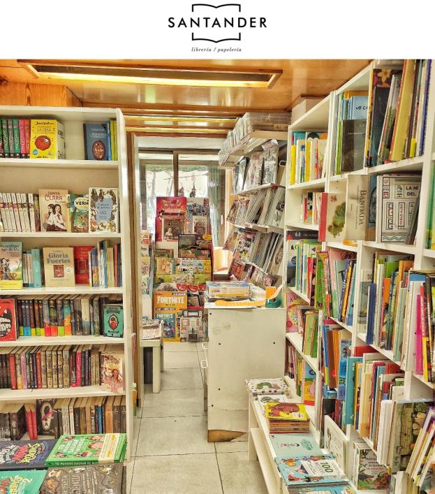 librería Santander en Aluche Madrid