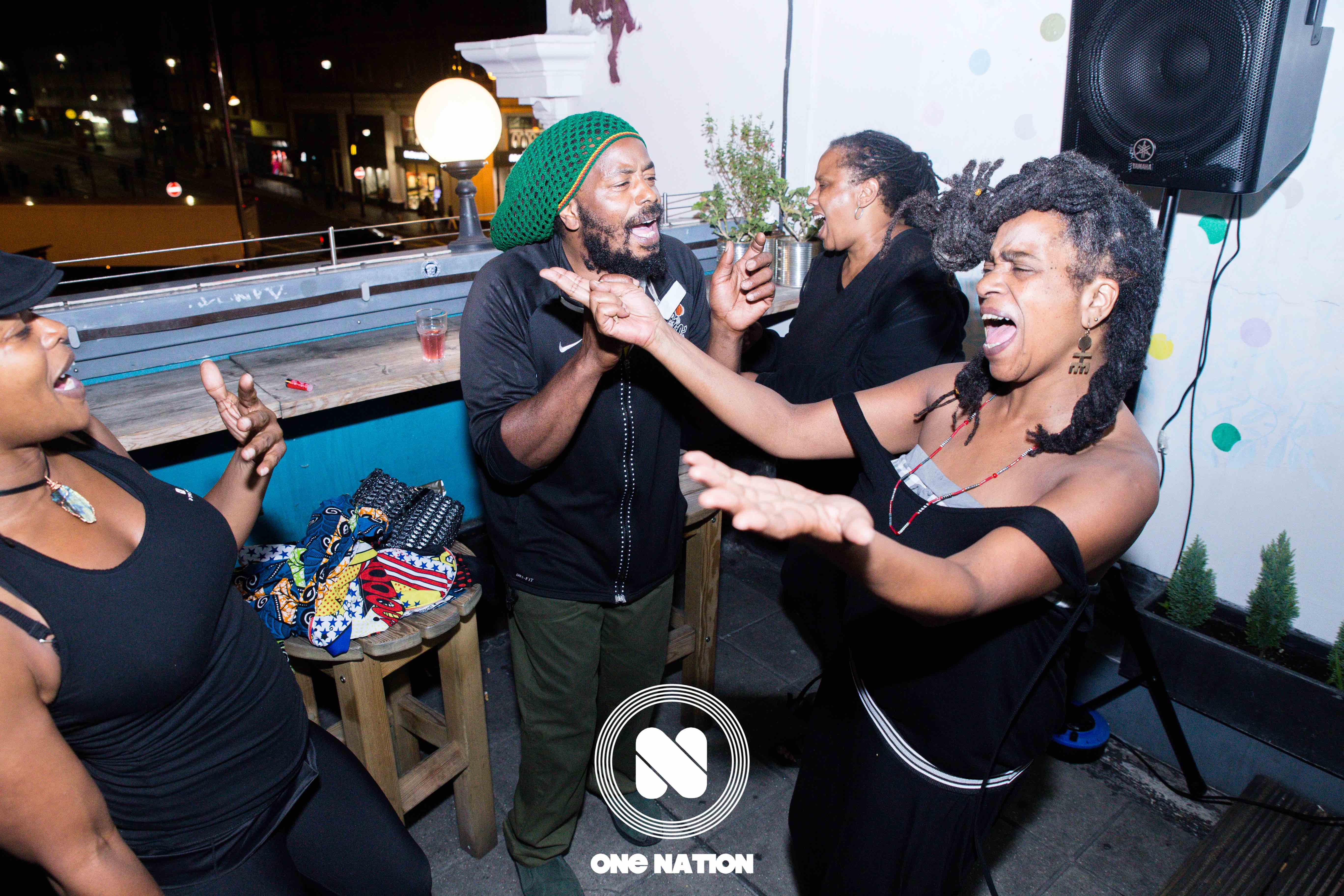 We like to take the party onto the outdoor terrace overlooking the heart of Brixton. #OneNationUAG
