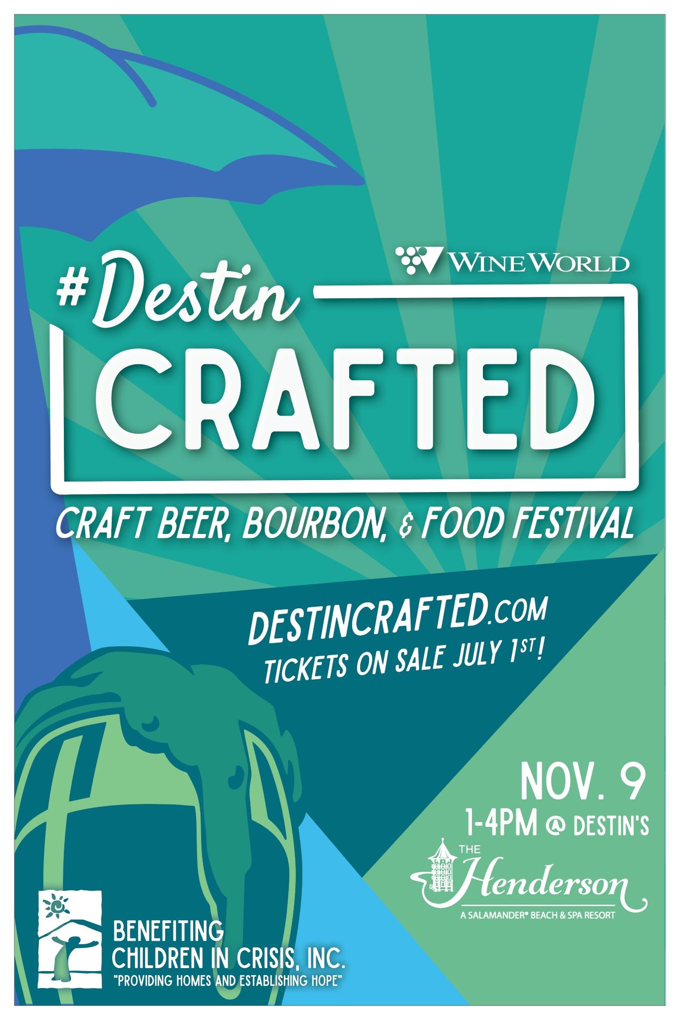 Destin Crafted bourbon & beer festival
