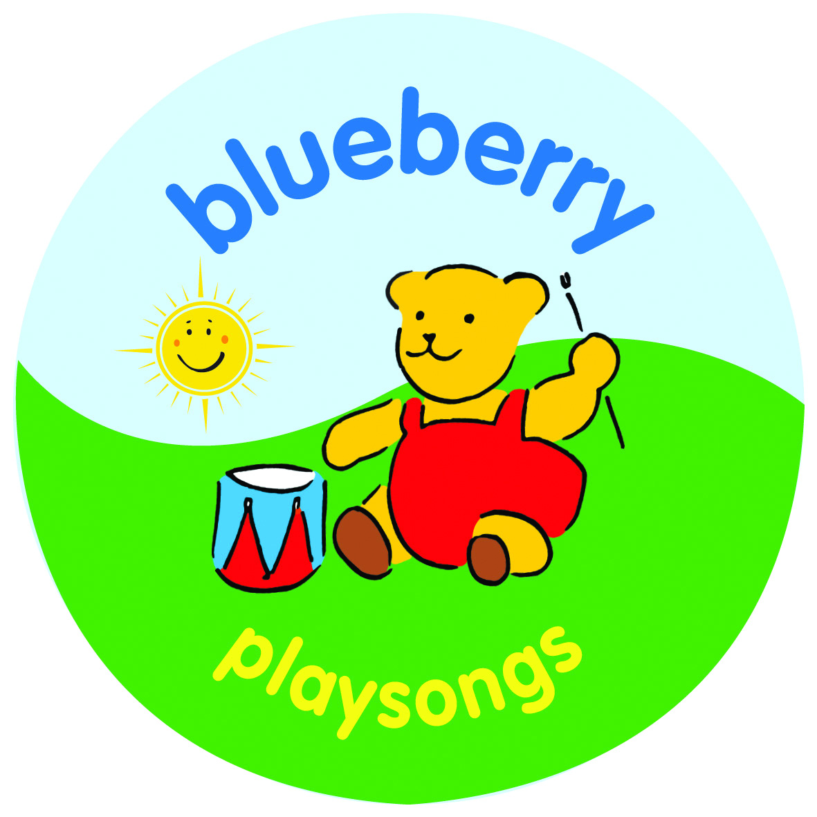 Blueberry Playsongs logo