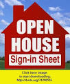Open House sign