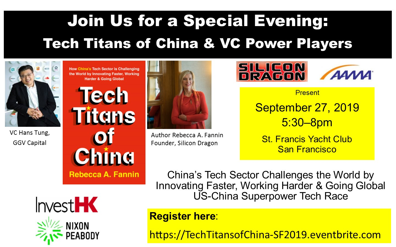 Tech Titans of China, SF