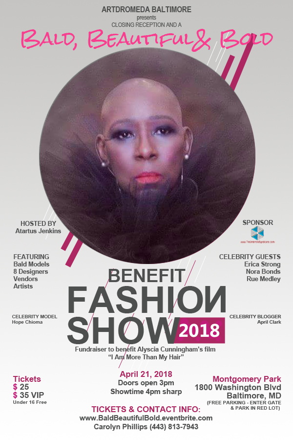 Bald, Beautiful, & Bold event flyer