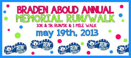 Braden Aboud Annual Memorial Run/Walk