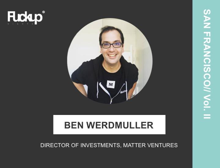 Ben Werdmuller - Matter Ventures