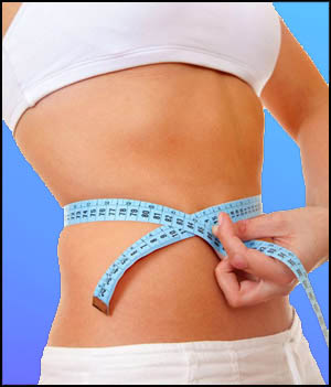 slim woman after weight loss