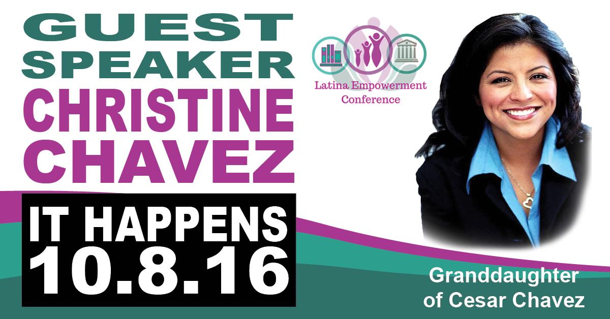 Keynote Speaker Christine Chavez