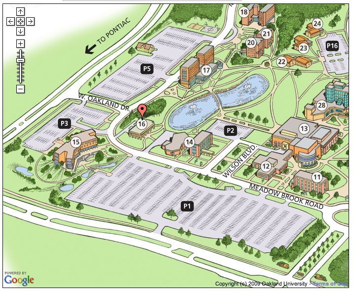 Location and Parking Map