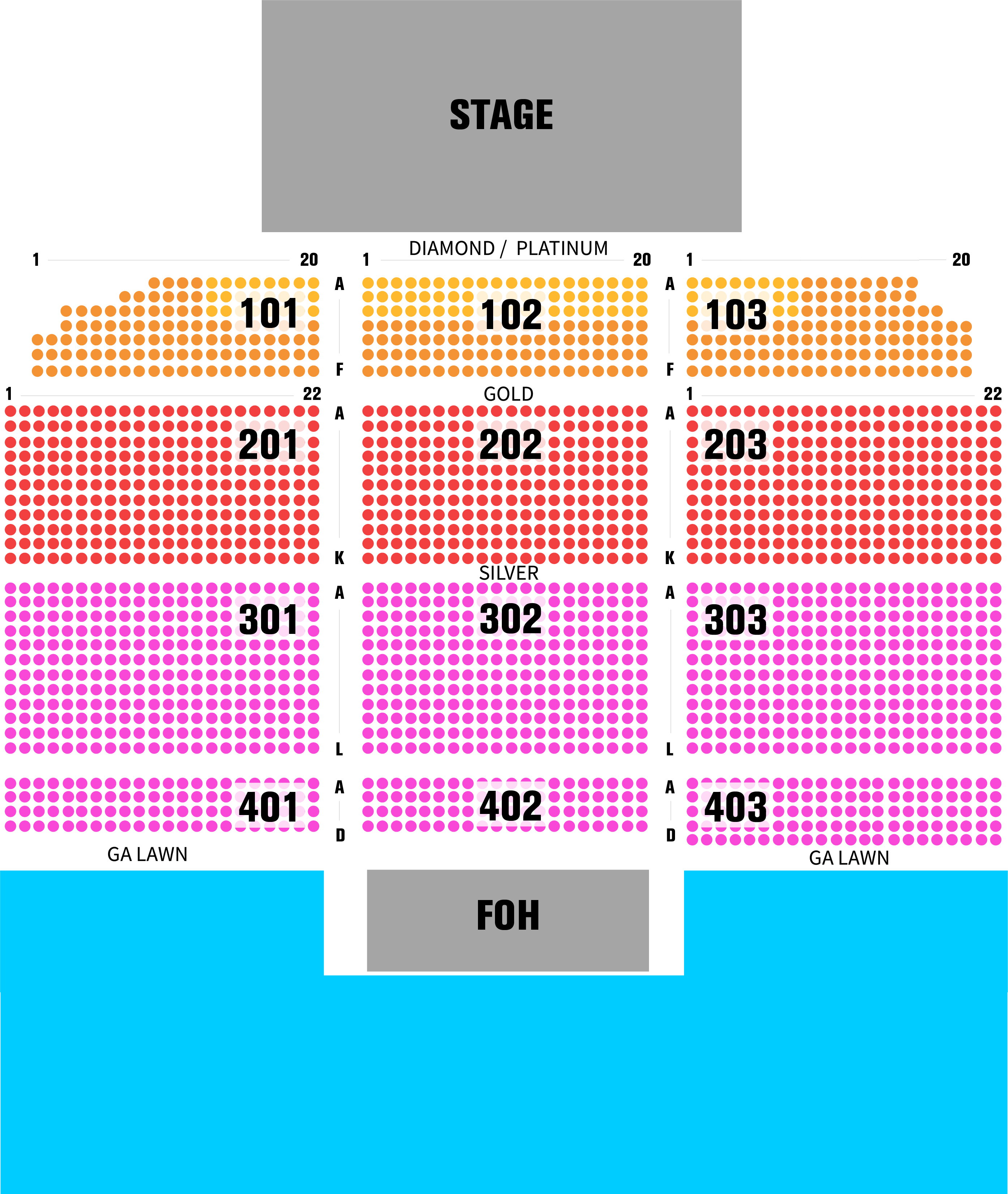 RBRM Seating Chart