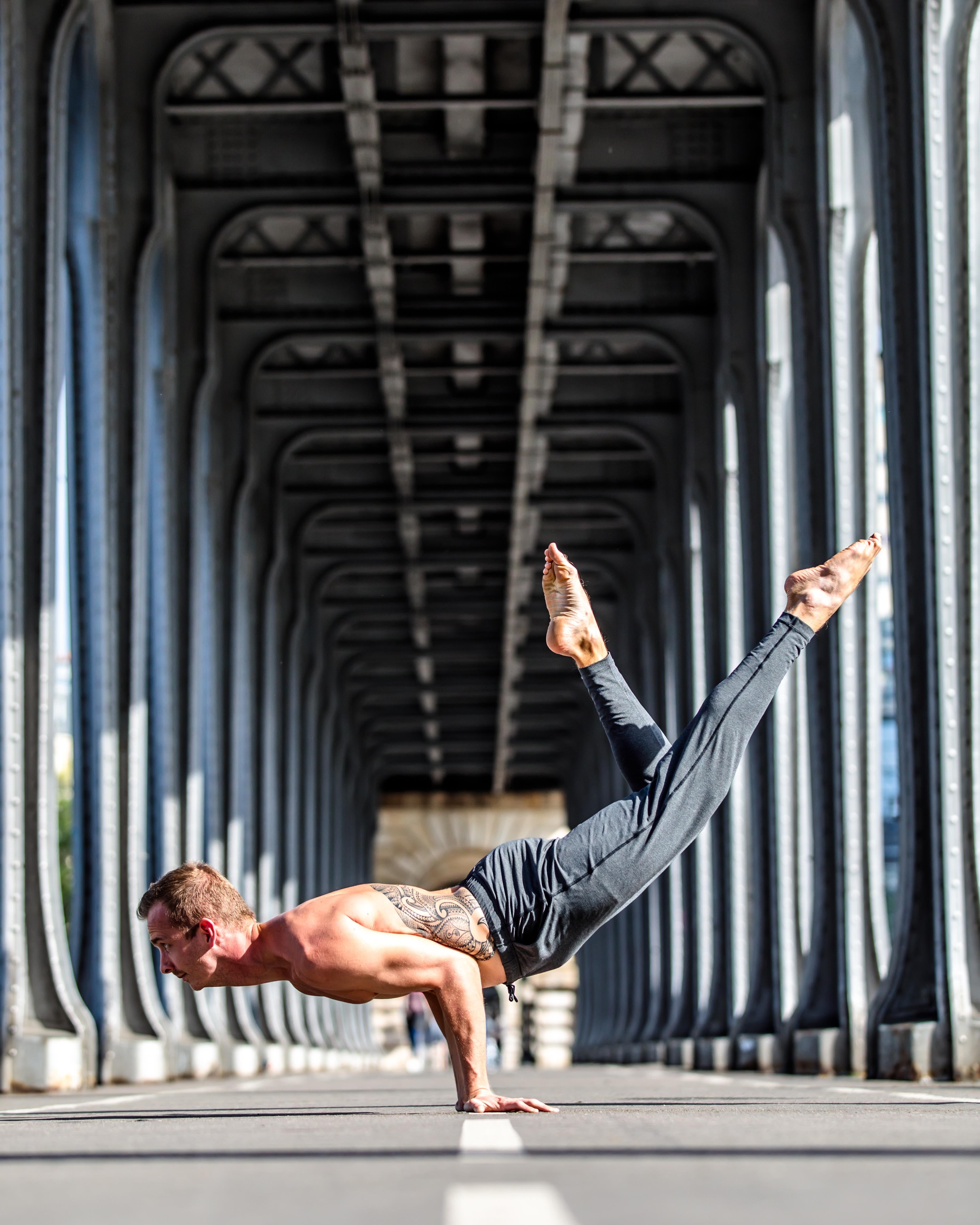 Mark Das Arm Balancing