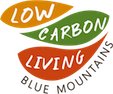 Low Carbon Living, Blue Mountains logo