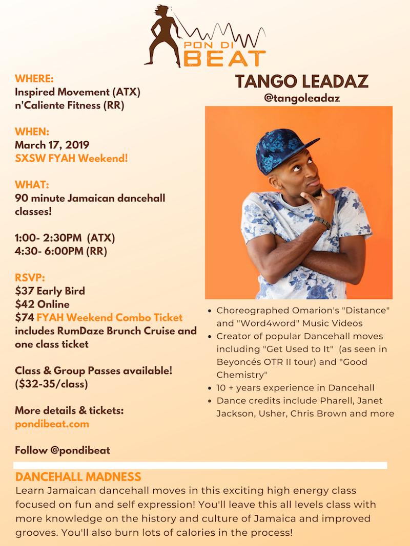 Tango Leadaz Dance Class Austin