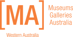 Museums Galleries Australia WA logo