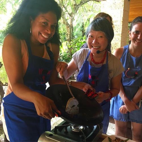 POH-stir fry with Cybil
