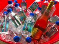 Fiji Water & Barton & Guestier Vouvray wine