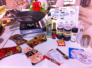 Wok Star Kit & goodies