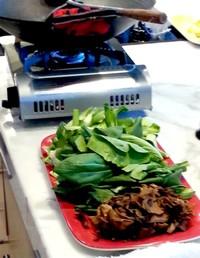 Mushroom, Bok Choy Stir Fry
