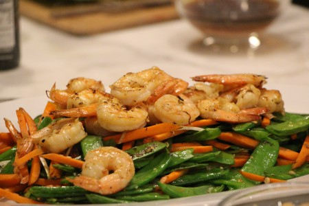 Shrimp Stir Fry replace with chicken!