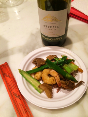 Zonin-Astraio-shrimp-mushroom-broccoli-stirfry