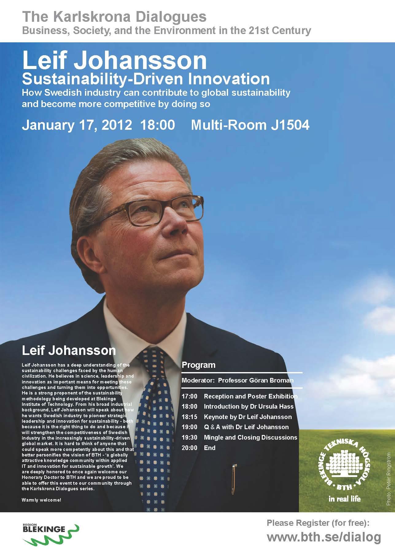 Poster Karlskrona Dialogues January 2011