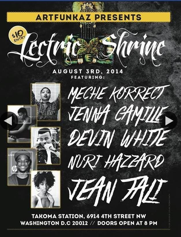 ArtFunkaz present LECTRIC SHRINE