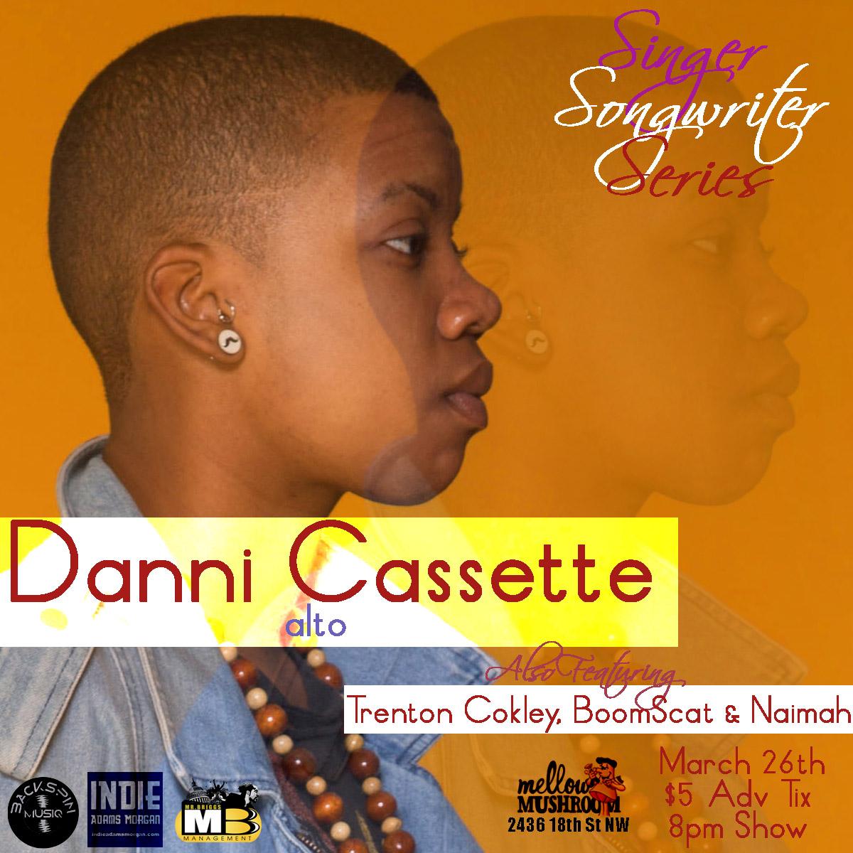 Danni Cassette Singer/Songwriter Series in DC