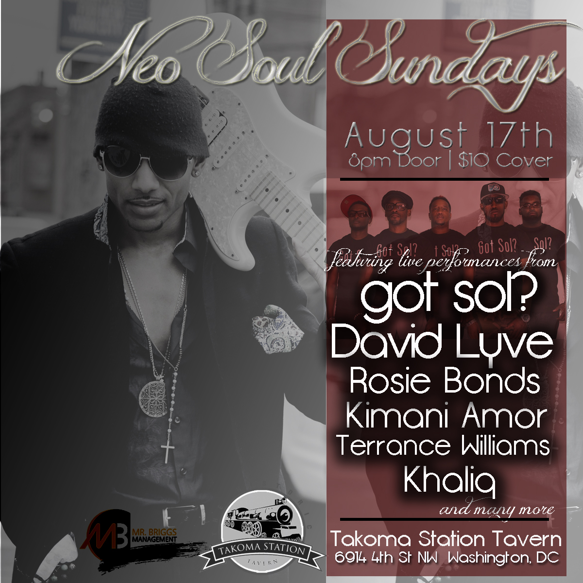 David Lyve and Got Sol? at Neo Soul Sundays