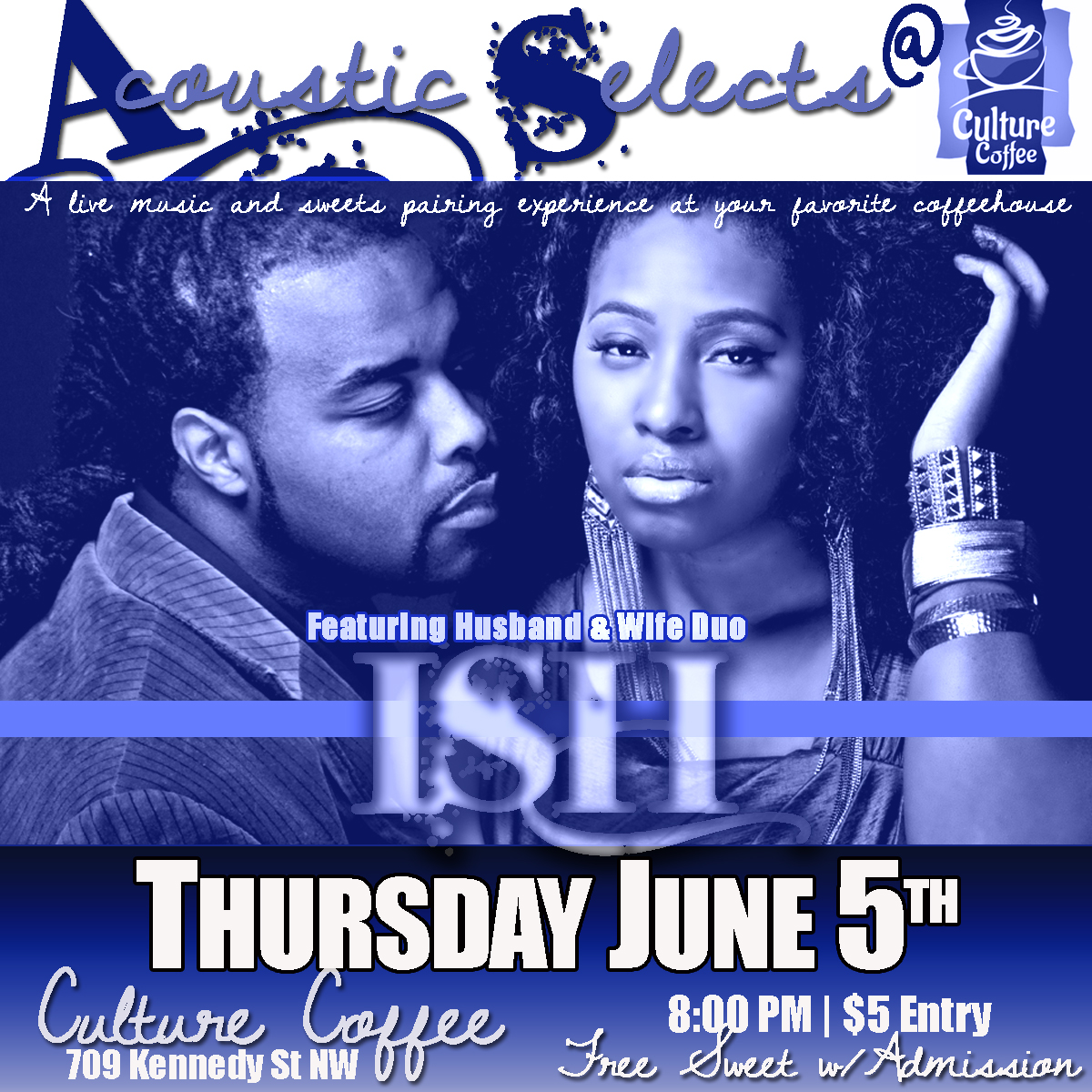 Acoustic Selects @ Culture Coffee wsg ISH