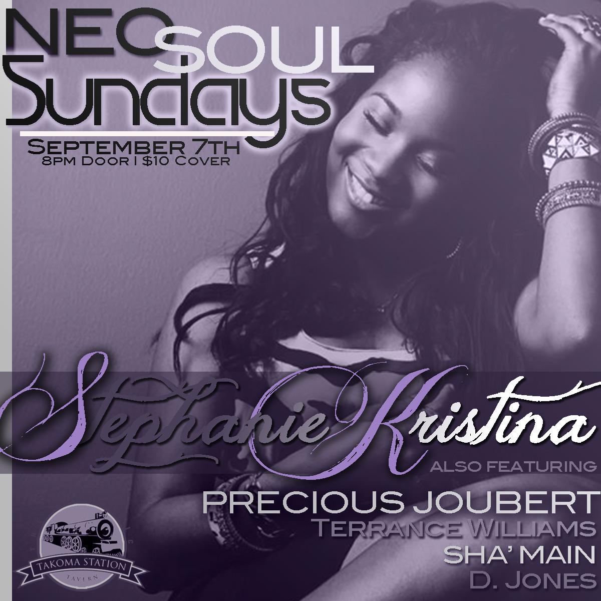Stephanie Kristina at NEO SOUL SUNDAYS